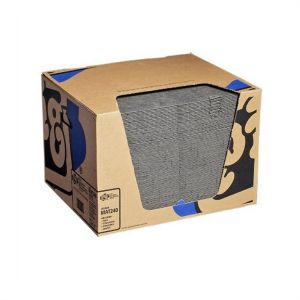 New Pig Absorbent Mat Pad in Dispenser Box Universal Heavy Wgt 15 in. x 20 in.
