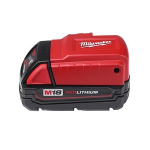 Milwaukee M18 Red Lithium Power Source for M12 Heated Jackets, Phone, Mp3 player, Digital Camera