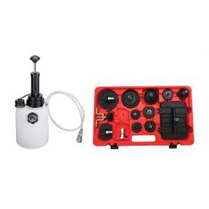 Pressure Brake Bleeder Bundle With Bleeder Tank and Adapter Kit
