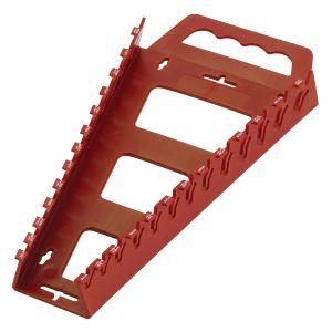 Hansen Global Quik-Pik SAE Fractional Wrench Rack, Red