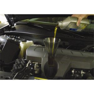 Ford and GM Engine Oil Funnel