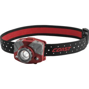 FL75R Rechargeable Headlamp, Red
