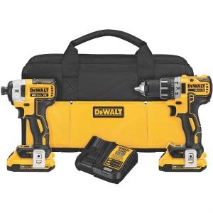 DeWalt 20V MAX XR Li-Ion Brushless Compact Drill/Driver and Impact Driver Combo Kit