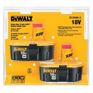 DeWalt 18V XRP Battery Combo Pack