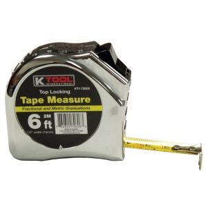 """1/2"""" x 6' Top Lock Tape Measure with SAE and Metric Markings"""