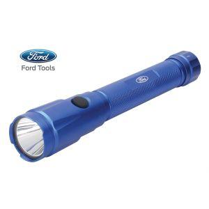 "Ford Tools Aluminum LED 250 Lumens Flashlight, ""C"" Battery Operated"