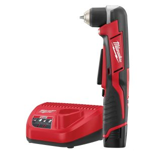Milwaukee M12 Cordless 3/8 in. Right Angle Drill / Driver w/ (1) REDLITHIUM CP1.5 Battery Kit