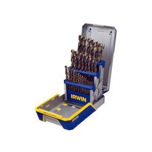 29 Piece Turbomax Metal Index Drill Bit Set
