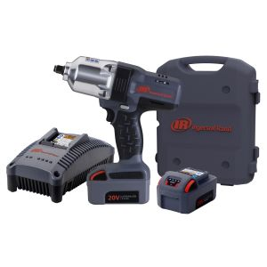 """IQv20 Li-Ion 1/2"""" Drive Impact Wrench Kit with Charger and Two Batteries"""