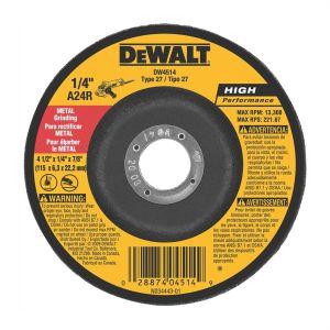 "DeWalt 4-1/2"" x 1/4"" x 7/8"" High Performance Metal Grinding Wheel"