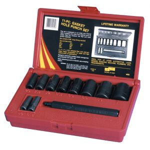 11 Piece Gasket Hole Punch Set