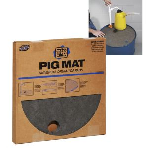 New Pig Universal Light-Weight Absorbent Drum-Top Pad (20 Pads per Box)