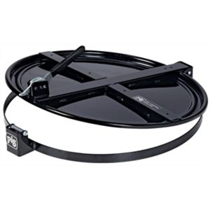 New Pig Latching Drum Lid for 55 Gallon Drum, Black