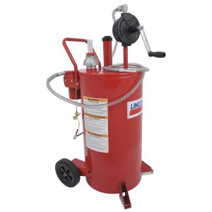 25 Gallon Fuel Caddy with 2 Way Filter System