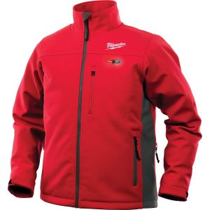 M12 Heated TOUGHSHELL Jacket Kit, Med (Red)