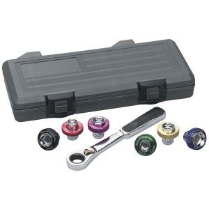 7-Piece Magnetic Drain Plug Socket Set
