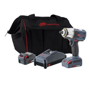 3/8 in. Drive High Torque Impact Wrench w/ 2 Batteries Kit