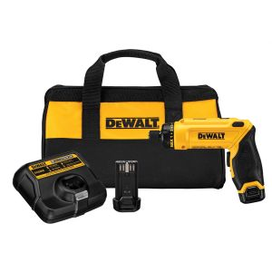 DeWalt 8V MAX Gyroscopic Screwdriver w/ (2) Compact Battery Kit