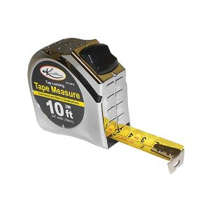 """3/4"""" x 10' Top Lock Tape Measure with SAE and Metric Markings"""
