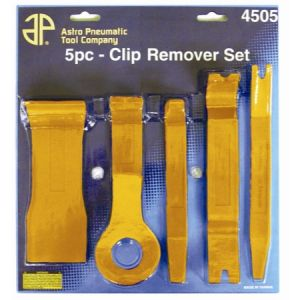 Astro Clip, Fastener and Molding Remover 5-Piece Set
