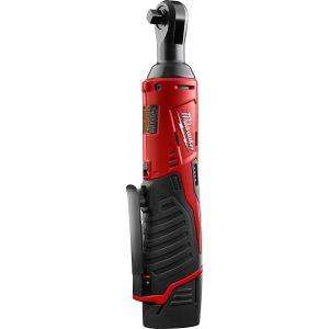 M12 Cordless 3/8 in. Lith-Ion Ratchet w/ (1) REDLITHIUM CP1.5 Battery Kit