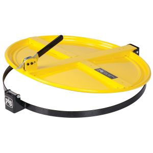 New Pig Latching Drum Lid for 55 Gallon Drum, Yellow
