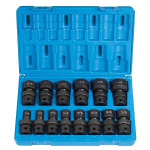 "1/2"" Dr. 14 Pc. Std. Length Frac.Univ.Set  - 12 Point"