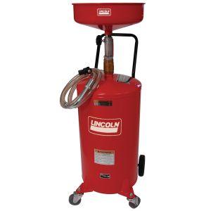 18-Gallon Steel Portable Oil Drain with Dispense Capabilities
