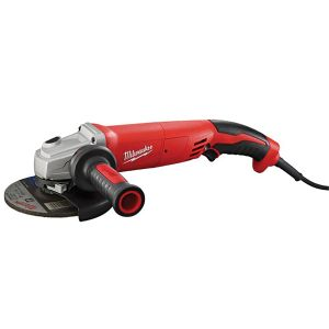 Milwaukee 13-Amp 5 in. Small Angle Grinder Trigger Grip, Lock-On