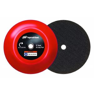 "Ingersoll Rand 03H-PAD-HL Sanding and Polishing Pads Mini Polisher Accessories 3"" Hook & loop backer pad"