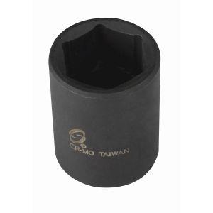 1/2 in. Drive Standard 6-Point Impact Socket 18mm