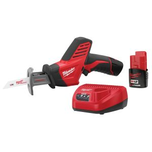 Milwaukee M12 Hackzall Reciprocating Saw w/ (2) Batteries Kit