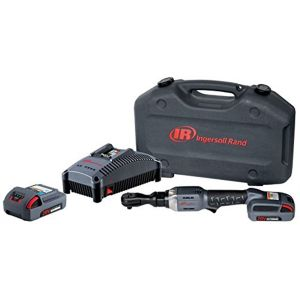 3/8 in. 20V Cordless Ratchet Wrench with Charger and (2) Li-ion 2.5 Ah Batteries
