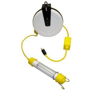 Stubby 13 Watt Fluorescent Light Reel with 40' Cord