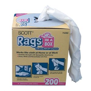 "Scott Rags in a Box, 10"" x 14"" (200 ct.)"