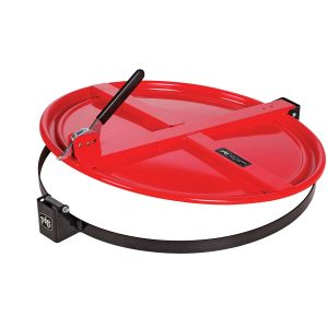 New Pig Latching Drum Lid for 55 Gallon Drum, Red