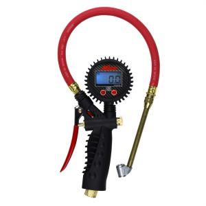 Digital Inflator Gauge with Dual Head Chuck