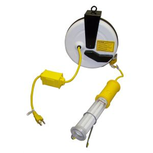 Stubby II Light with 40' Cord and Auto Reel