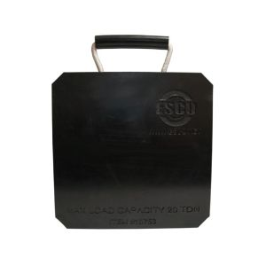 "Jack Plate 12"" x 12"" x 1"" with 20-Ton Capacity"