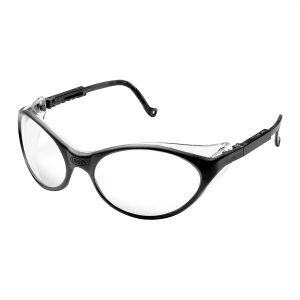 Bandit Black Frame Safety Glasses with Clear UD Lens