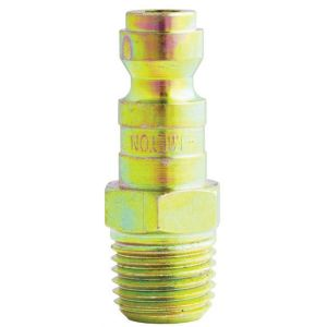 "1/4"" Male Tru-Flate/Parker T Style Plug - 2 Pack"