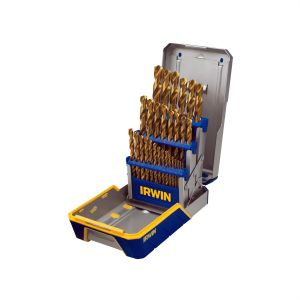 29 Piece Titanium Metal Index Drill Bit Set
