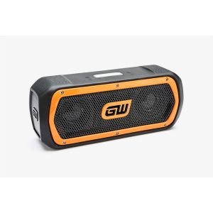 GearWrench Rechargeable Bluetooth Speaker and Radio; FM/AUX/SD/Stream